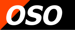 oso logo blok orange zwart